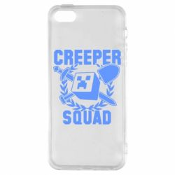 Чехол для iPhone5/5S/SE Creeper Squad