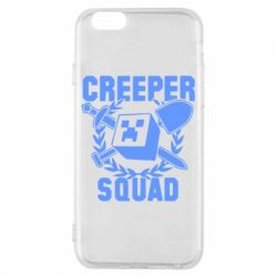 Чехол для iPhone 6/6S Creeper Squad