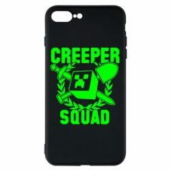 Чехол для iPhone 8 Plus Creeper Squad