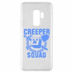 Чохол для Samsung S9+ Creeper Squad