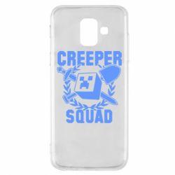 Чохол для Samsung A6 2018 Creeper Squad
