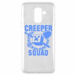 Чохол для Samsung A6+ 2018 Creeper Squad