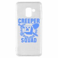 Чохол для Samsung A8 2018 Creeper Squad