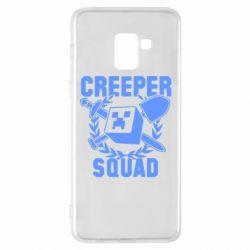 Чохол для Samsung A8+ 2018 Creeper Squad