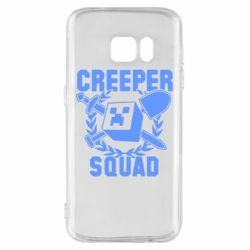 Чохол для Samsung S7 Creeper Squad