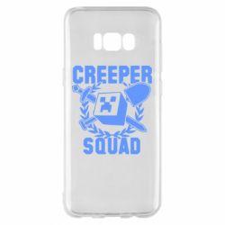 Чохол для Samsung S8+ Creeper Squad