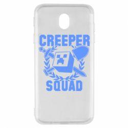 Чохол для Samsung J7 2017 Creeper Squad