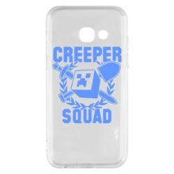 Чохол для Samsung A3 2017 Creeper Squad