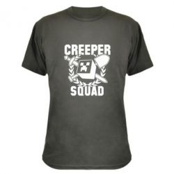 Камуфляжная футболка Creeper Squad - FatLine