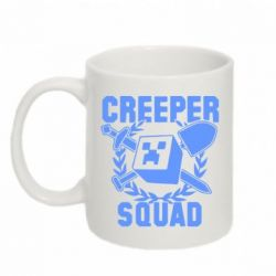 Кружка 320ml Creeper Squad