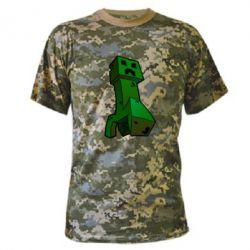 Камуфляжная футболка Creeper - FatLine