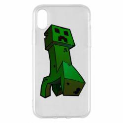 Чехол для iPhone X/Xs Creeper
