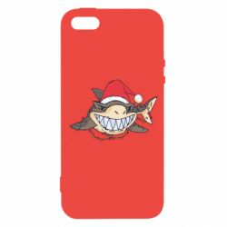 Чехол для iPhone5/5S/SE Crhistmas Shark