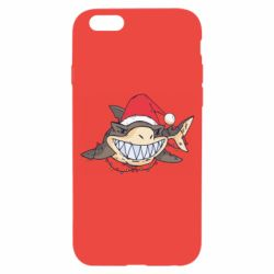 Чехол для iPhone 6/6S Crhistmas Shark