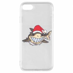 Чехол для iPhone 8 Crhistmas Shark