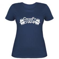 Женская футболка CrossFit Champ - FatLine