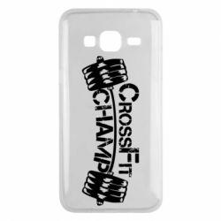 Чехол для Samsung J3 2016 CrossFit Champ
