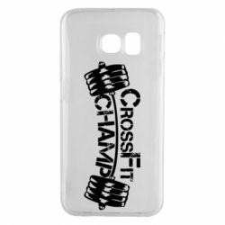 Чехол для Samsung S6 EDGE CrossFit Champ