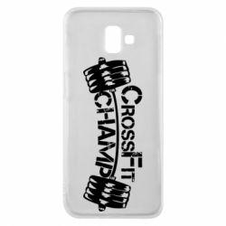 Чехол для Samsung J6 Plus 2018 CrossFit Champ