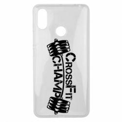 Чехол для Xiaomi Mi Max 3 CrossFit Champ