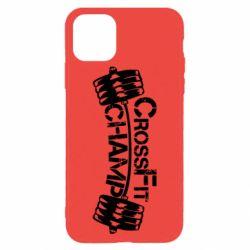 Чехол для iPhone 11 Pro Max CrossFit Champ