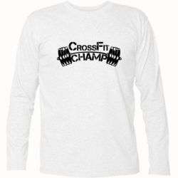 Футболка с длинным рукавом CrossFit Champ - FatLine
