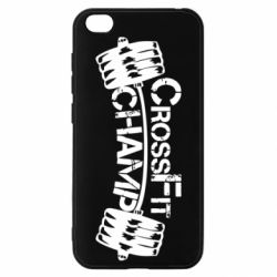 Чехол для Xiaomi Redmi Go CrossFit Champ