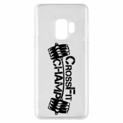 Чехол для Samsung S9 CrossFit Champ