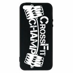 Чехол для iPhone5/5S/SE CrossFit Champ