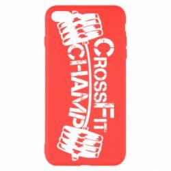 Чехол для iPhone 8 Plus CrossFit Champ