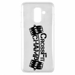 Чехол для Samsung A6+ 2018 CrossFit Champ