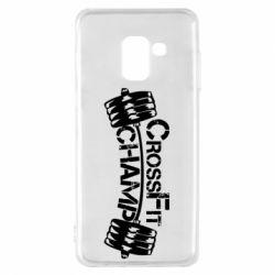 Чехол для Samsung A8 2018 CrossFit Champ