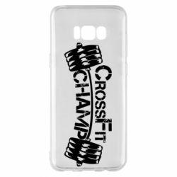 Чехол для Samsung S8+ CrossFit Champ