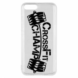 Чехол для Xiaomi Mi6 CrossFit Champ