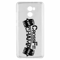 Чехол для Xiaomi Redmi 4 CrossFit Champ