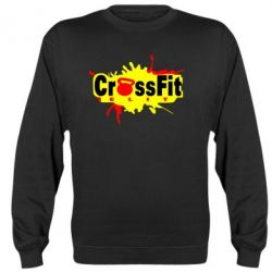 Реглан (свитшот) CrossFit Elit Graffity - FatLine
