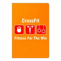 Блокнот А5 Crossfit Fitness For The Win