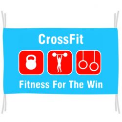Прапор Crossfit Fitness For The Win