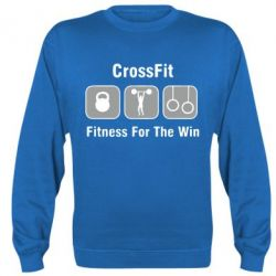Реглан (свитшот) Crossfit Fitness For The Win - FatLine