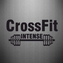 Наклейка Crossfit intense - FatLine