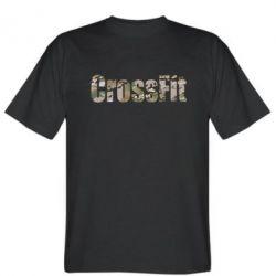 Мужская футболка CrossFit камуфляж - FatLine
