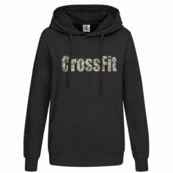 Женская толстовка CrossFit камуфляж - FatLine