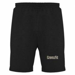 Мужские шорты CrossFit камуфляж - FatLine
