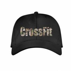 Детская кепка CrossFit камуфляж - FatLine