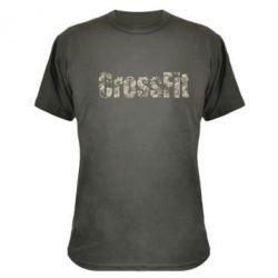 Камуфляжная футболка CrossFit камуфляж - FatLine