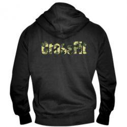 Мужская толстовка на молнии CrossFit камуфляж - FatLine