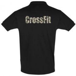 Футболка Поло CrossFit камуфляж - FatLine