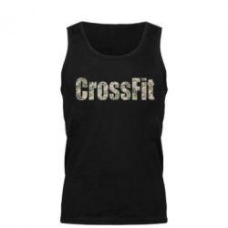 Мужская майка CrossFit камуфляж - FatLine