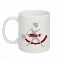 Кружка 320ml CrossFit Logo - FatLine
