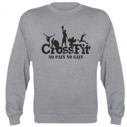 Реглан (свитшот) Crossfit No pain No Gain - FatLine